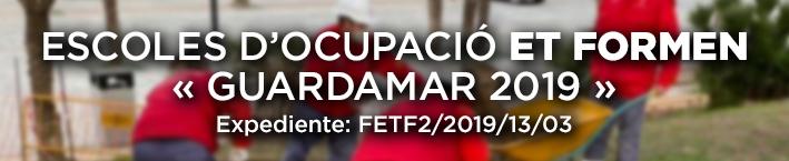 Escola d'ocupació ET FORMEN – Guardamar 2019 – Pub. 6/5/2019
