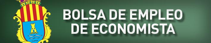 Bolsa de empleo de economista.